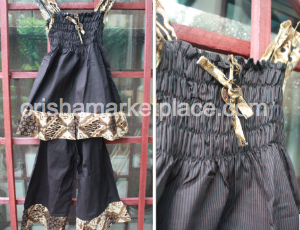 African Children's 2 piece Dress and Pants