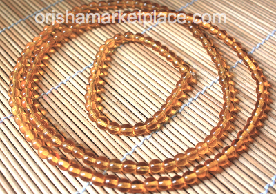 Matching Set Neck and Wrist Beads for Osun
