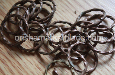 Traditional Ring Oruko Brass Metal Copper